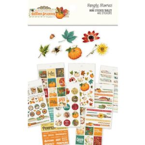 Simple Stories - Autumn Splendour - Mini Sticker Tablet
